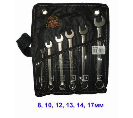 Набор комбинированных гаечных ключей в чехле, 6 шт. SKRAB 44046