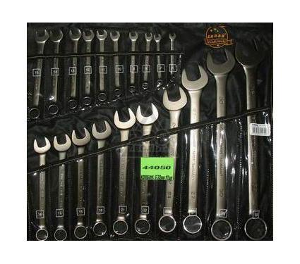 Набор комбинированных гаечных ключей в чехле, 20 шт. SKRAB 44050