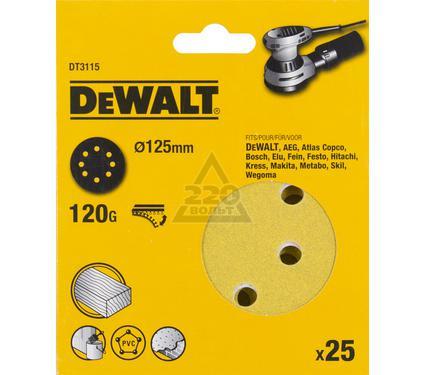 Круг фибровый DEWALT DT3115-QZ