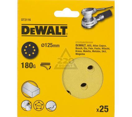 Круг фибровый DEWALT DT3116-QZ