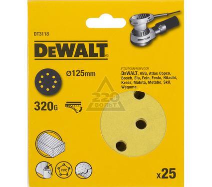 Круг фибровый DEWALT DT3118-QZ