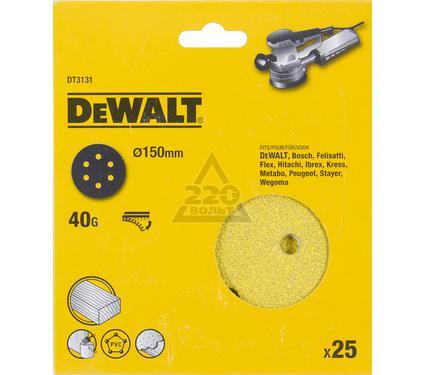 Круг фибровый DEWALT DT3131-QZ