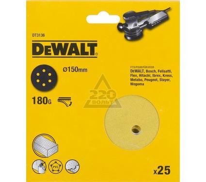 Круг фибровый DEWALT DT3136-QZ