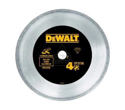 Круг алмазный DEWALT 125x22.2x2.2мм корона, по керамике