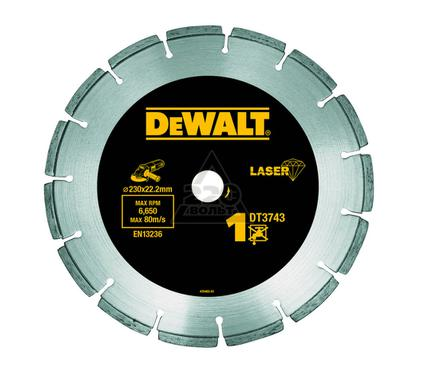 Круг алмазный DEWALT 230x22.2x2.4мм сегментный, универсальный