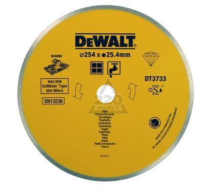 Круг алмазный DEWALT 250x25.4x1.6мм корона, по керамике