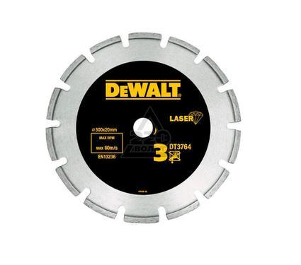 Круг алмазный DEWALT 300x22.2x2.8мм сегментный, по мрамору и граниту
