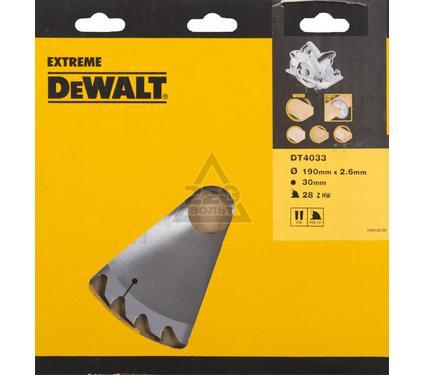 Круг пильный твердосплавный DEWALT DT4033-QZ