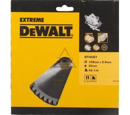 Круг пильный твердосплавный DEWALT DT4087-QZ