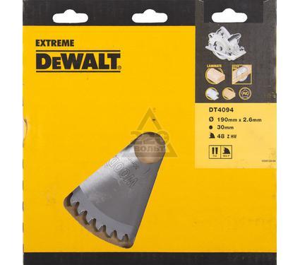 Круг пильный твердосплавный DEWALT DT4094-QZ