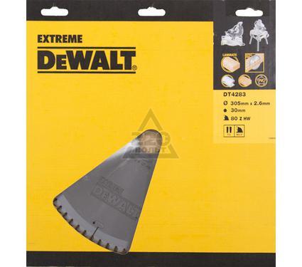 Круг пильный твердосплавный DEWALT DT4283-QZ