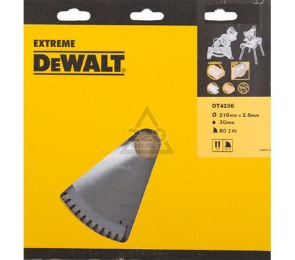 Круг пильный твердосплавный DEWALT DT4286-QZ