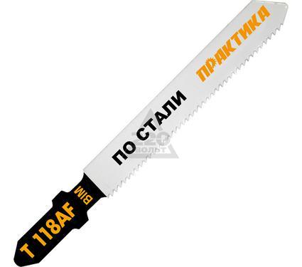 Пилки для лобзика ПРАКТИКА 034-595 T118AF 2шт.