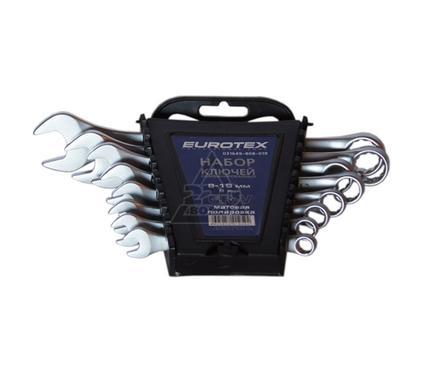 Набор комбинированных гаечных ключей в держателе, 8 шт. EUROTEX 031649-808-019