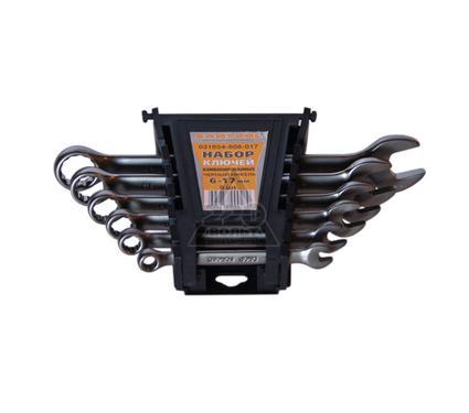 Набор комбинированных гаечных ключей в держателе, 6 шт. EUROTEX 031654-606-017