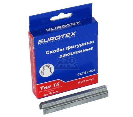 Скобы для степлера EUROTEX 032335-002