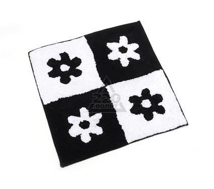 Коврик VERRAN Flor black 031-20