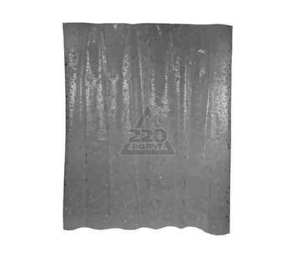 Штора для ванной комнаты WESS Krugla black P514-2