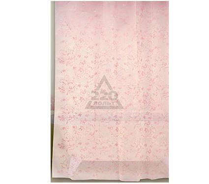 Штора для ванной комнаты WESS Rattan pink P527-8