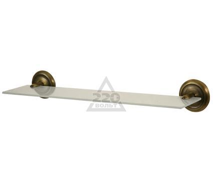 Полка для ванной комнаты стеклянная BISK Deco 401