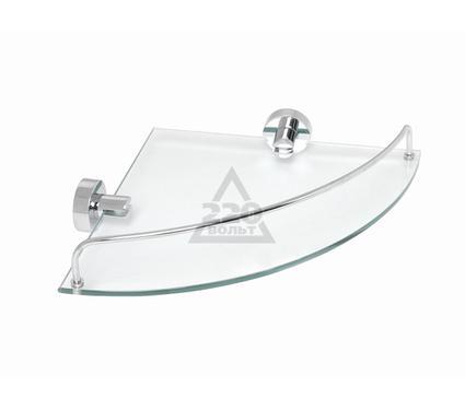 Полка для ванной комнаты стеклянная угловая FIXSEN Classic FX91203A