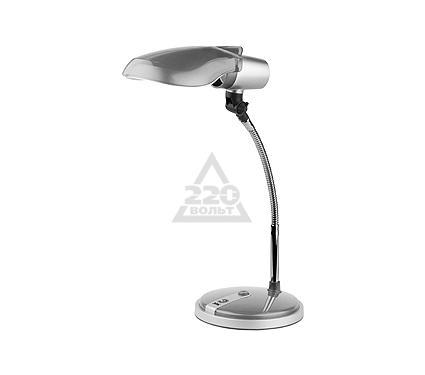 Лампа настольная ЭРА NE-301 серебро