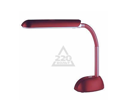 Лампа настольная ЭРА NL-205 красная