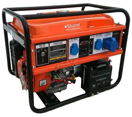 Бензиновый генератор STURM! PG8755E