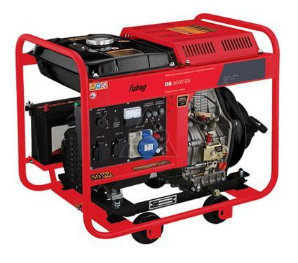 Дизельный генератор FUBAG DS 5000 ES