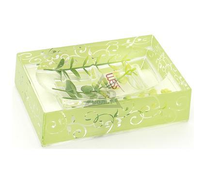 Мыльница для ванной WESS Silenzio green G88-68