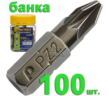 Бита ПРАКТИКА 776-607 Pz2 25мм, Профи 100шт.
