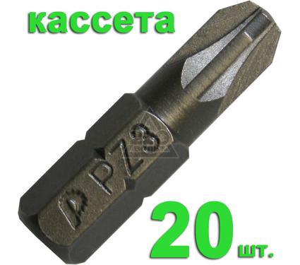 Бита ПРАКТИКА 036-643 Pz3 25мм, Профи, 20шт.