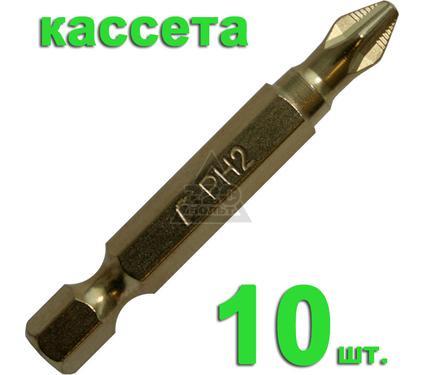 Бита ПРАКТИКА 036-933 Ph2 50мм, TiN, Эксперт, 10шт.