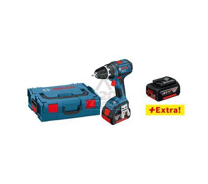 Дрель аккумуляторная BOSCH GSR 18 V-LI L-BOXX Professional 3x4.0Ач