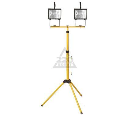 Прожектор на штативе FERON 2х500Вт