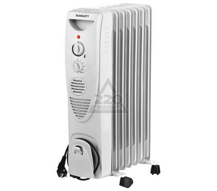 Масляный радиатор с вентилятором SCARLETT SC-1152