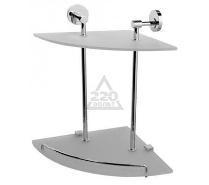 Полка для ванной комнаты стеклянная двойная AM PM A5537800 Bliss