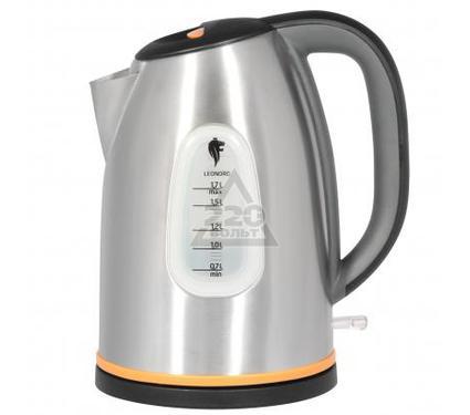 Чайник LEONORD LE-1006 черно-серо-оранжевый