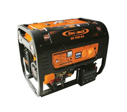 Бензиновый генератор ERGOMAX ER7800 E/3