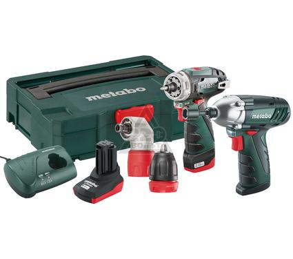 ����� METABO Combo Set 2.1  10.8� LiION: BS+SSD+Angle+2.0��+4.0��