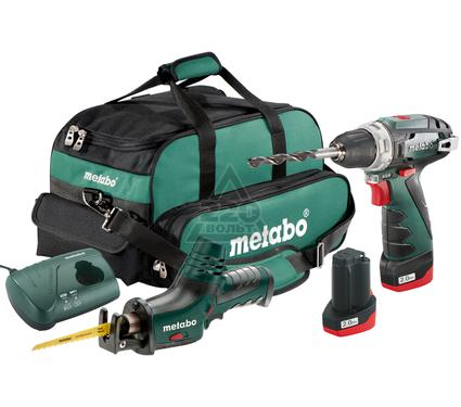 Набор METABO Combo Set 2.4 10.8В LiION: BS+ASE+2x2.0Ач