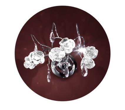 ��� LAMPLANDIA 2878/3 Rose belle white