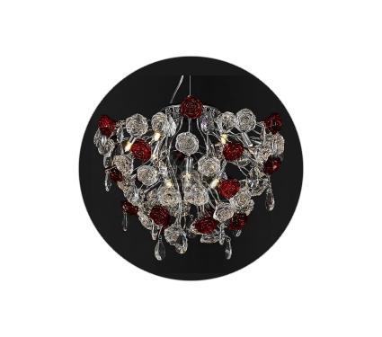 Люстра LAMPLANDIA 5017-10 Rosa Neon