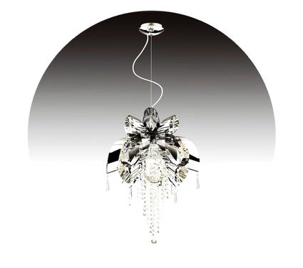 Люстра LAMPLANDIA 3781-6 Joffee Silver