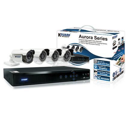 Комплект видеонаблюдения KGUARD Aurora AR821-CKT001