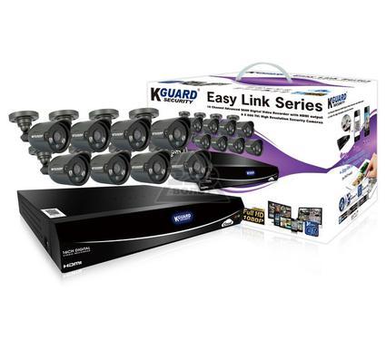 Комплект видеонаблюдения KGUARD EL1621-8HW212B