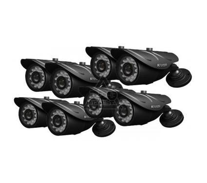 Комплект видеонаблюдения KGUARD NS801-8CW214H-500G