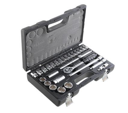 Набор инструментов в чемодане, 27 предметов AIST 409427B