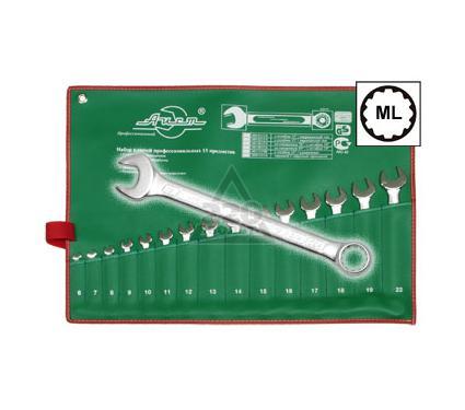 Набор комбинированных гаечных ключей в чехле, 15 шт. AIST 0011315A