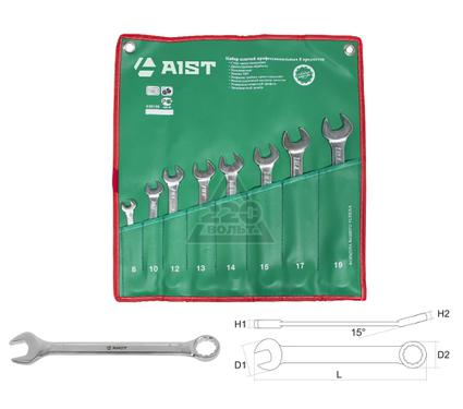 Набор комбинированных гаечных ключей, 8 шт. AIST 0010208C